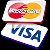 Оплата Visa и Mastercard